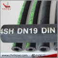 High Performance wire spiral Hydraulic hose EN856 4SH/4SP