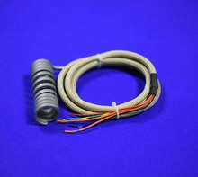 Copper heating coil and ceramic heater ring