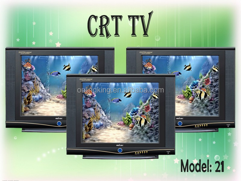 low price 17inch crt tv color tv in China