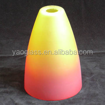 handmade customized opal bowl glass shade for pendant light