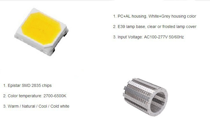 European standards professional corn led light manufacturer E40 100w led corn light