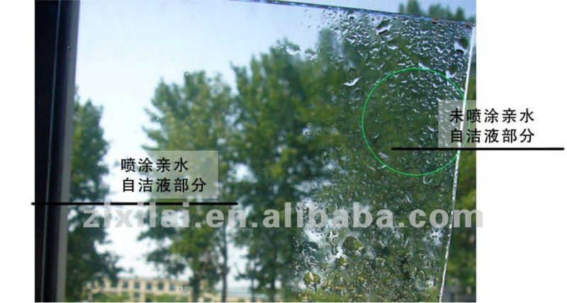 Excellent scratch resistance Super hydrophilic self cleaning Coating