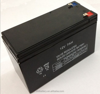 best price lead acid maintenance free ups 12v 7ah 20hr battery