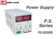 Single Channel Output 30V 20A Adjustable Digital Display Linear DC Power Supply With Converted Display