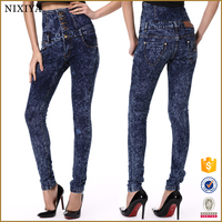 High waist jeans for women 2015 monkey wash jeans