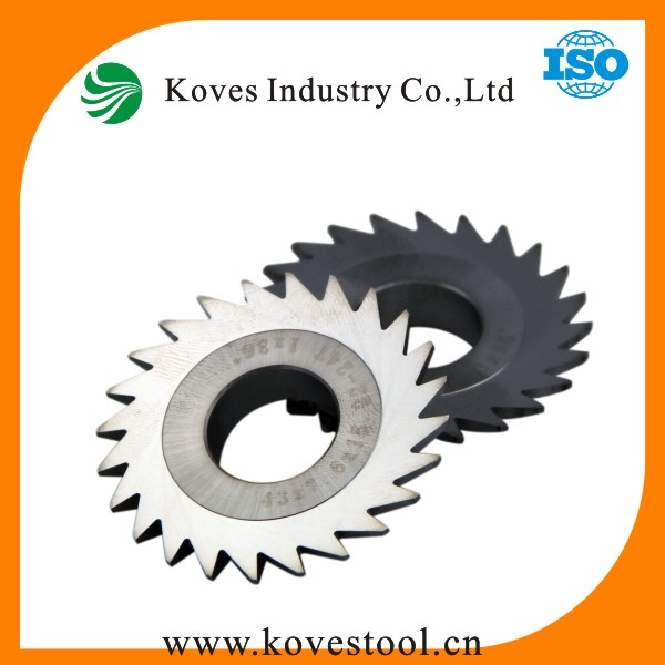 Tipped circular solide saw blade making machine for cutting metal