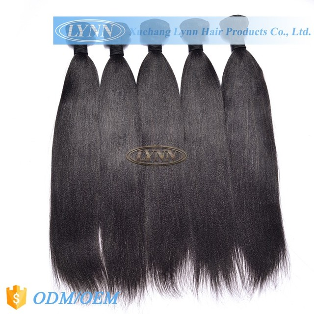 Professional product dip dye remy hair weave