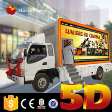 China mobile rider simulator 3d 4d 5d 6d 7d 8d 9d cinema truck mobile 5d movie equipment