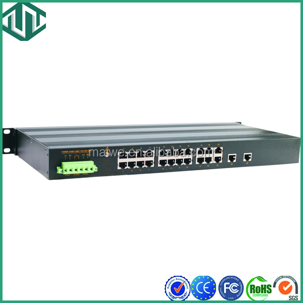24 port 10/100Base Unmanagement network switch rack