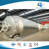 High Oil Yield Rubber Pyrolysis Recycling Production Line with 10 Tons Daily Capacity