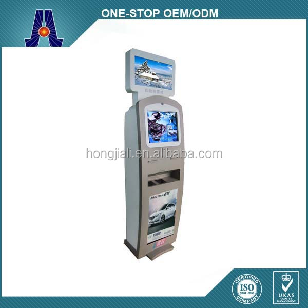 slim design mobile phone top up kiosk and multi touch screen recharge kiosk (HJL-3313)