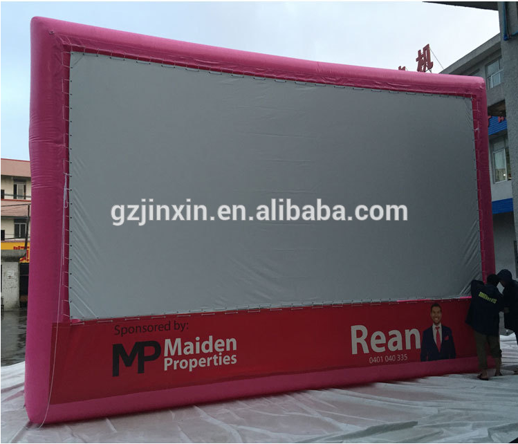 Outdoor Advertising inflatable Movie Projector Screen For Sale