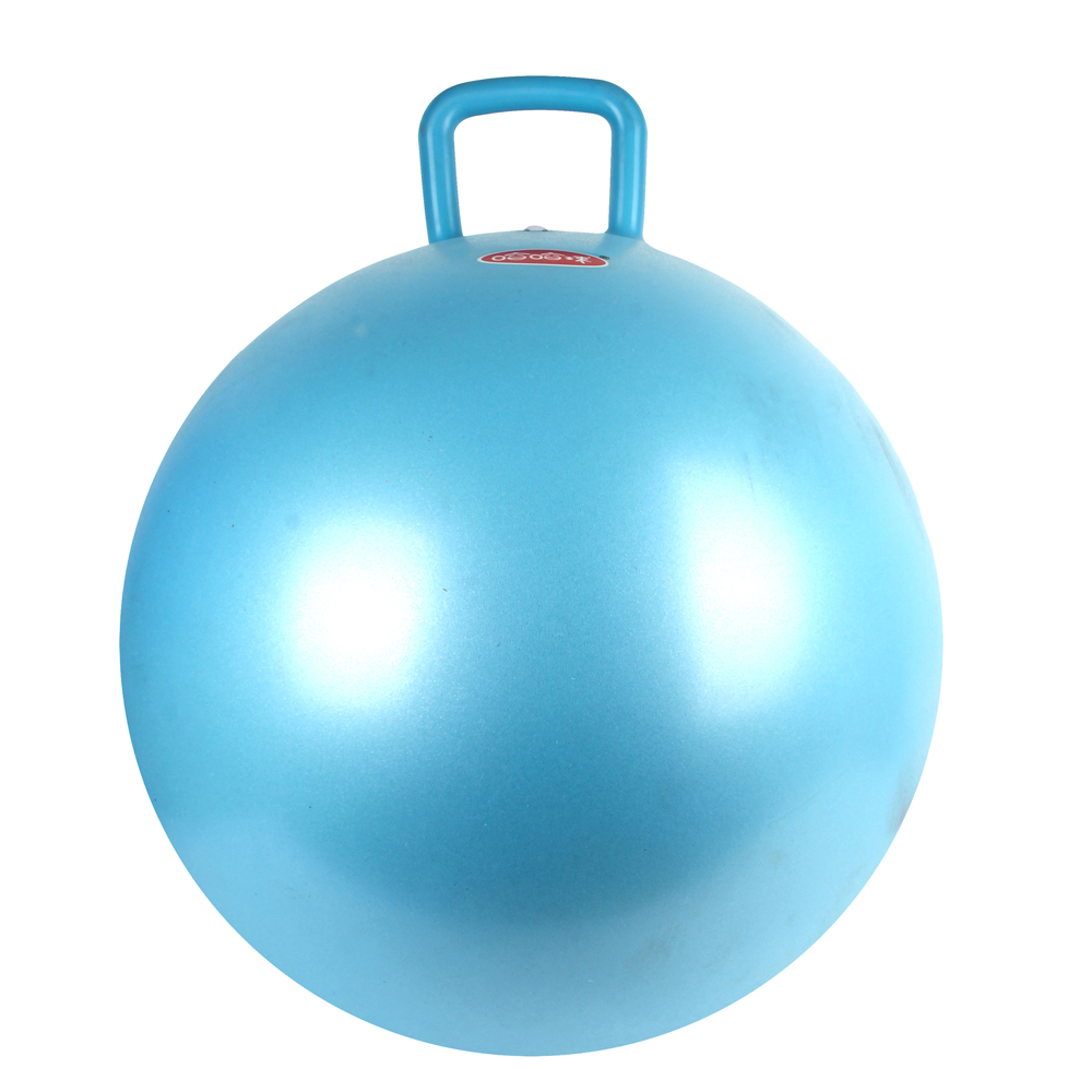 Inflatable 45cm Anti-burst Hopper with Handle ,Non toxic & Eco-Friendly PVC material