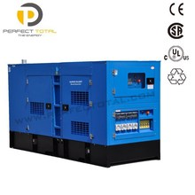 100kw/125kva CUMMINS three phase silent genset