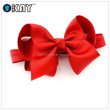 236 Colors Wholesale Elastic Christmas Baby Headband