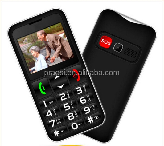 large sos button elder mobile phone one emergency key cell phone S9