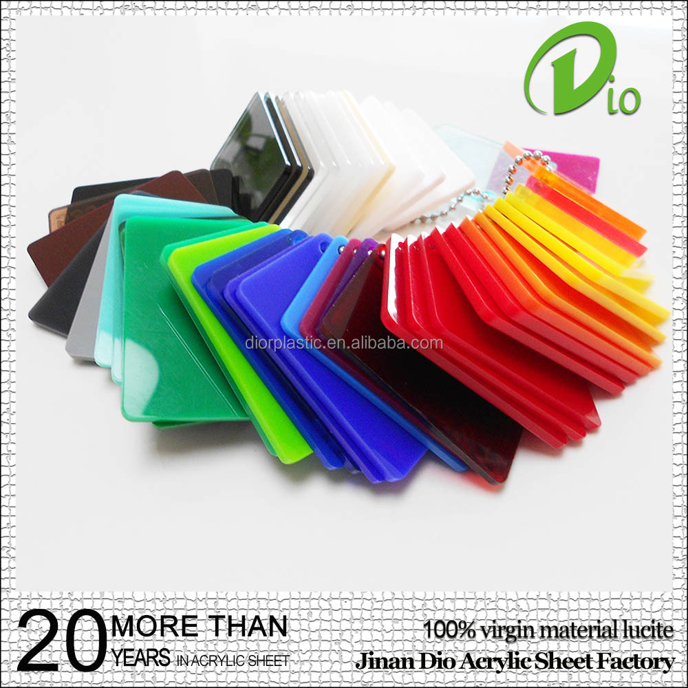 high gloss 100% virgin mma 1250x1850mm plastic acrylic sheet for furniture