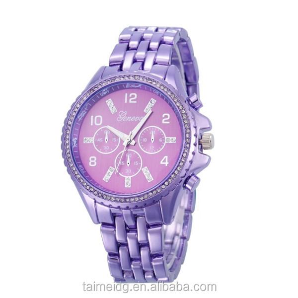 China market white diamond watches for men