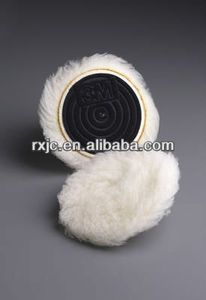 wool bonnet/lambswool polishing pad/wol pad
