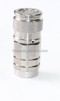 stainless steel flat face hydraulic quick coupling for HANSEN-FF Serise interchanged