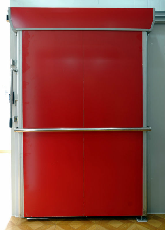 Blast freezer room pu sandwich panel doors sliding