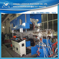 SJ90 high precision 200-800mm double wall PE corrugated tube extrusion equipment