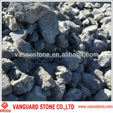 Grey lava rock stone wholesale price