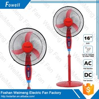 Popular And Practical Full Copper Stand 12 Volt Rechargeable Fan
