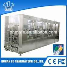 intergrated sodium fluride vacutainer tube assembling machine for blood tube