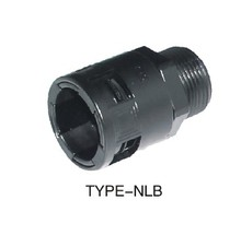 high waterproof corrugated plastic conduit/gland connector(NLB)