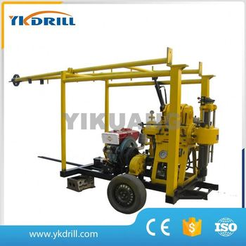 china supplier lubricant water well drilling machine price