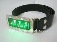 christmas santa belt buckles new Programmable digital LED belt buckle