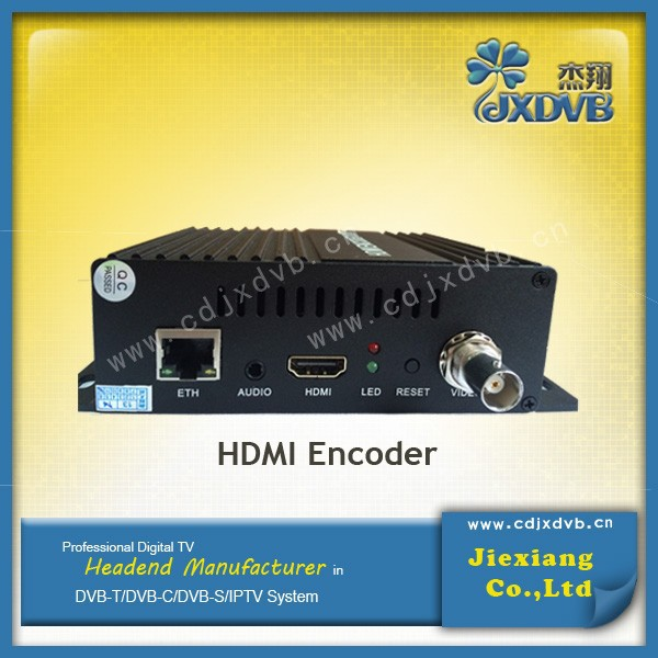 2015 HD MI to RTSP Encoder for low cost IP streaming service Digital TV