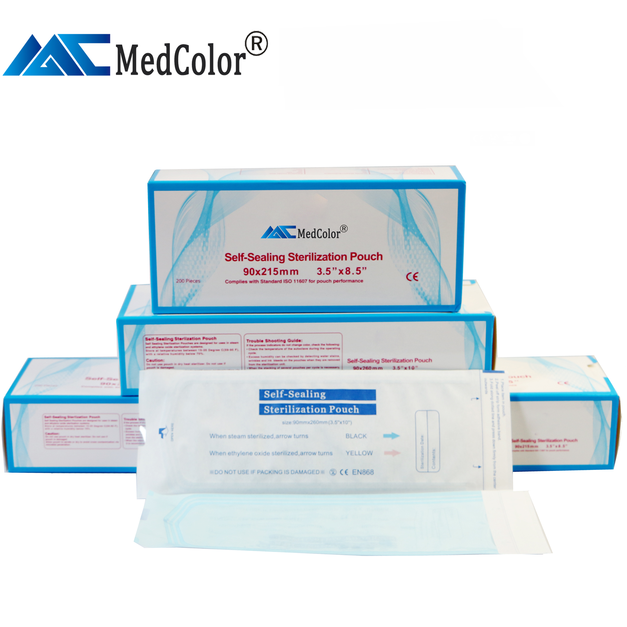 Medical paper Sterilization Pouch/Dental Autoclave Bags many <strong>sizes</strong>