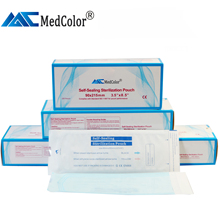 Medical paper Sterilization Pouch/Dental Autoclave <strong>Bags</strong> many sizes