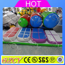 2017 New arrival Inflatable gymnastics air track training set for children