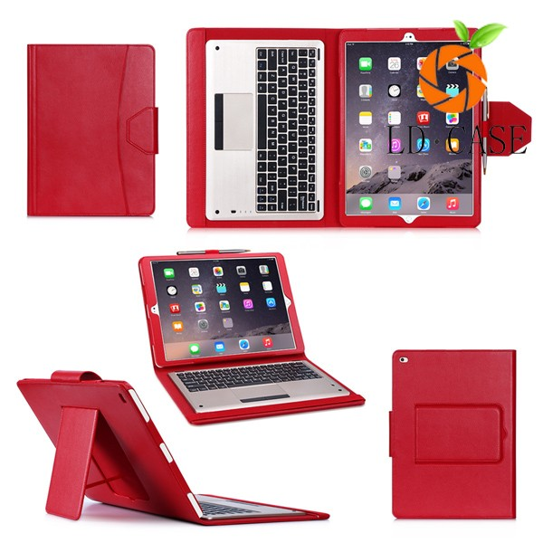 "Luxury Genuine Leather Case for Apple iPad Pro 12.9"" Tablet Stand Cover case for ipad pro"