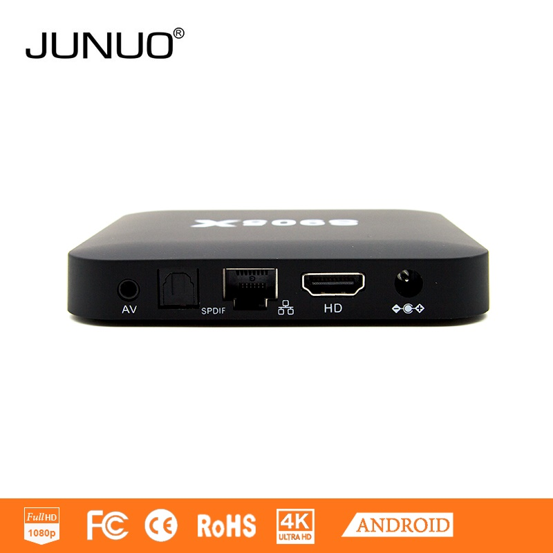 Junuo oem factory ott android tv box internet linux 6.0 android tv box