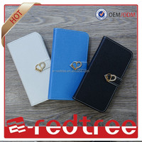 Hot sale Sublimation flip leather case for samsung galaxy s4 mini