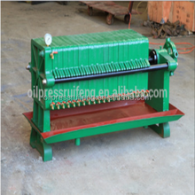 Commercial machine low price oil making machine plate frame oil filter press