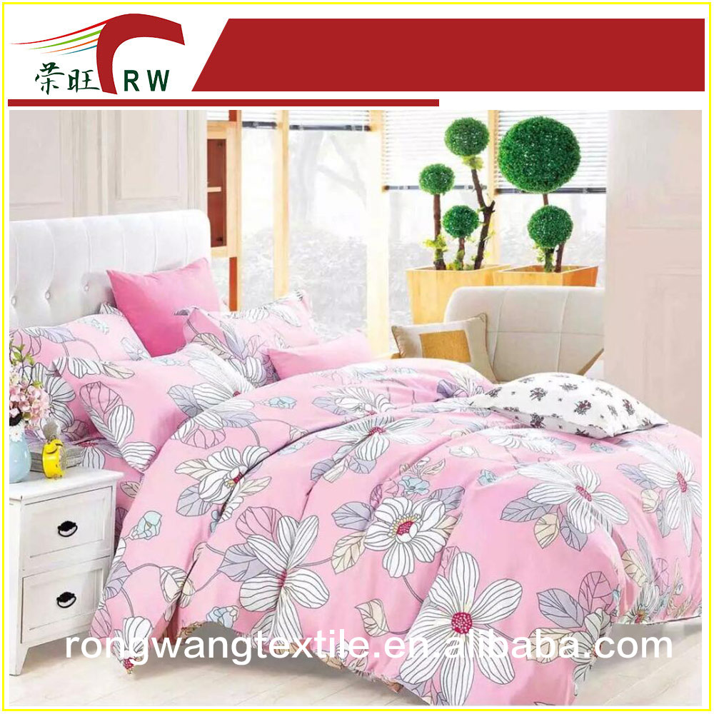 the best price printed100% polyester fabric for home textile