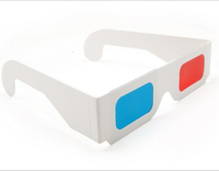 Red and Blue Glasses 3D Glasses Movie Glassese