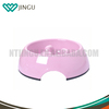 Pink pet bowl for pet food with different colors