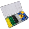Cable Terminal Kit 308pc Assorted Cable tie and Cable Terminal