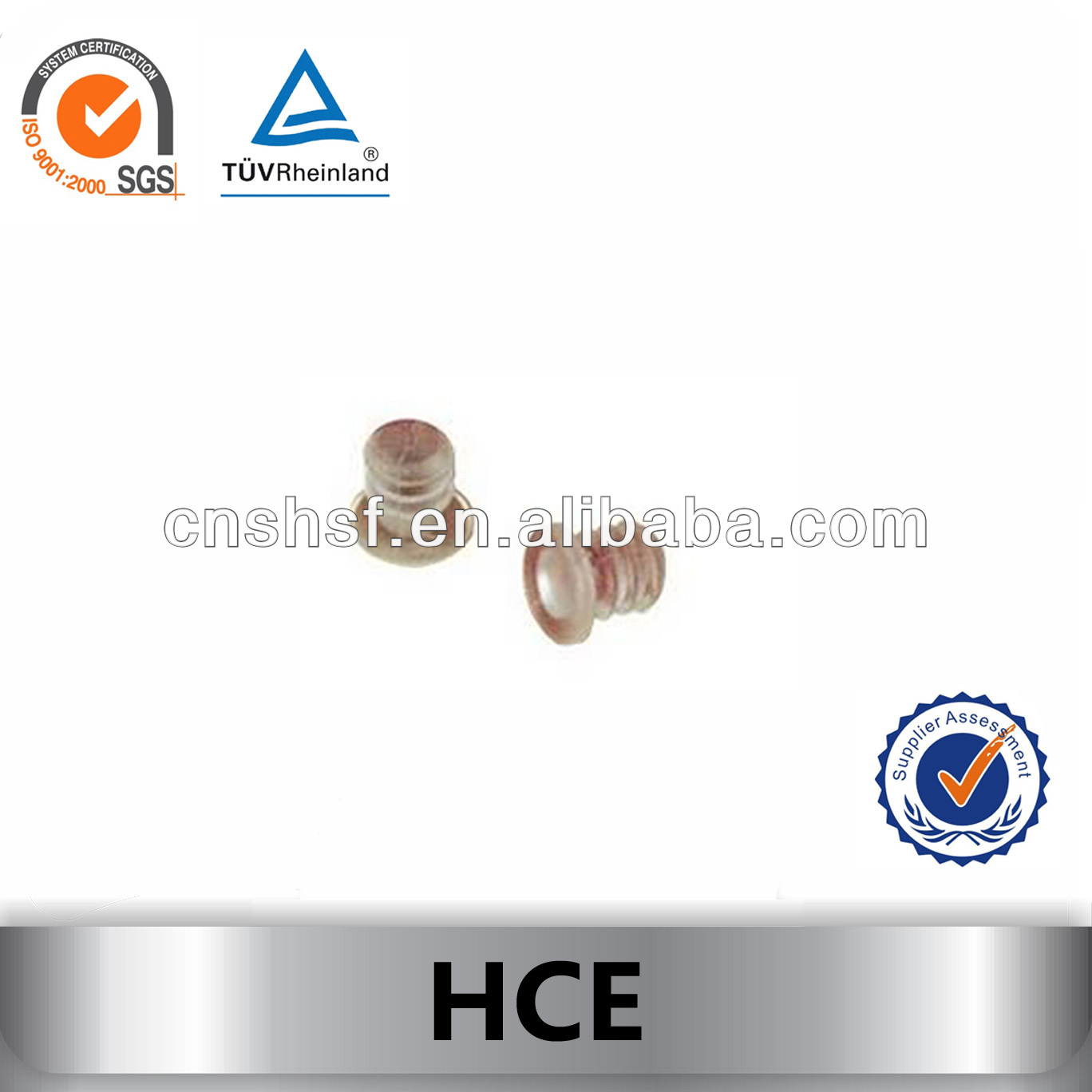 rubber door buffer/cushion pads HCE