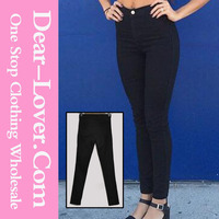 ladies jeans top design Black Classic Women Skinny jeans wholesale price