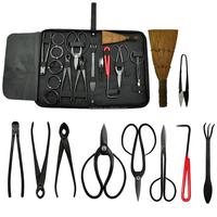 Bonsai Tool 14-Piece Carbon Steel Shear Set and Tool Kit