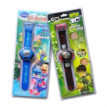 2015 newest wristwatch Ben 10 digital projector kids watch