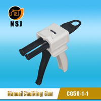 Extruder Gun, dispensing gun, caulking gun for 50ml adhesive cartridge