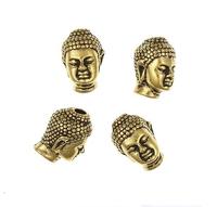 china bead manufacturers fashion metal antique gold buddha prayer bead